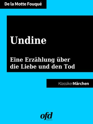 cover image of Undine